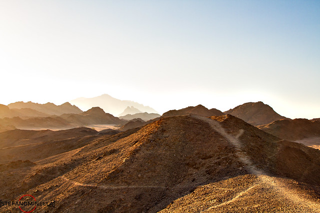 Path on the Desert Hills