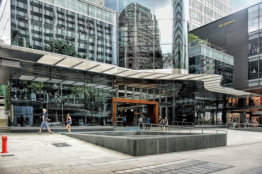 Commercial Building To Property Line Winkler