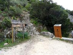 Le départ des sentiers du Ponti di Marionu et de Costa di Barola