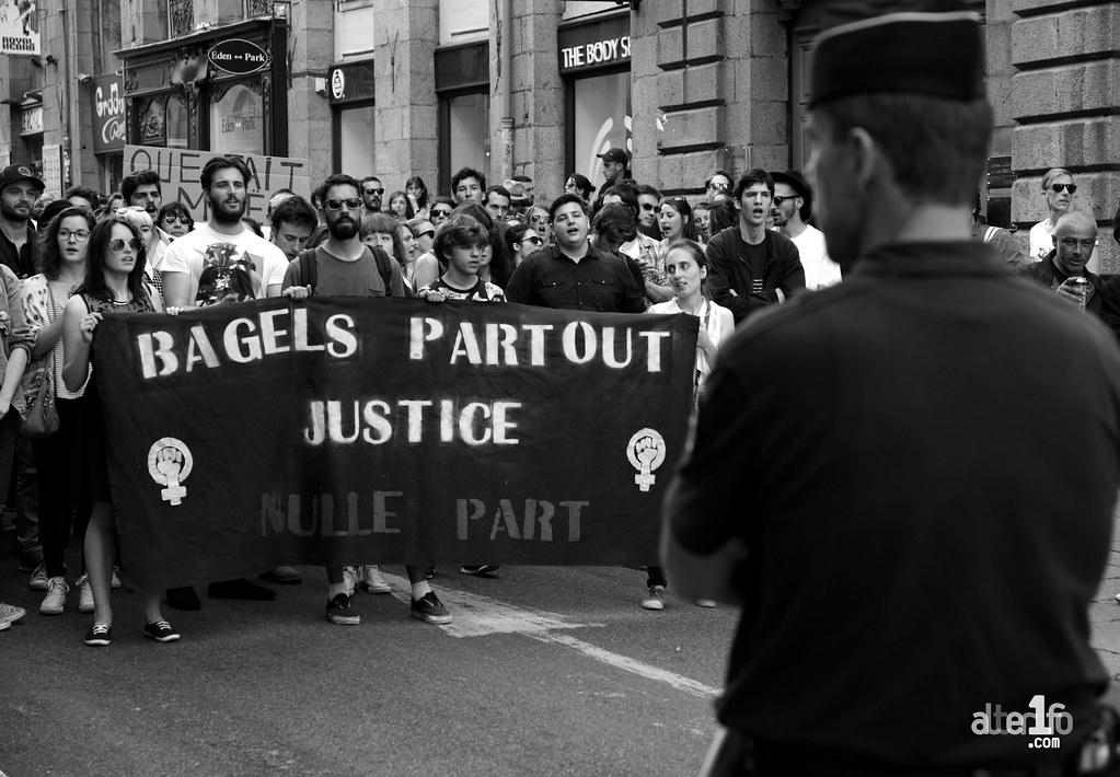 [08 Juin 2016] - Un jour, une photo... Bagels partout, justice nulle part !