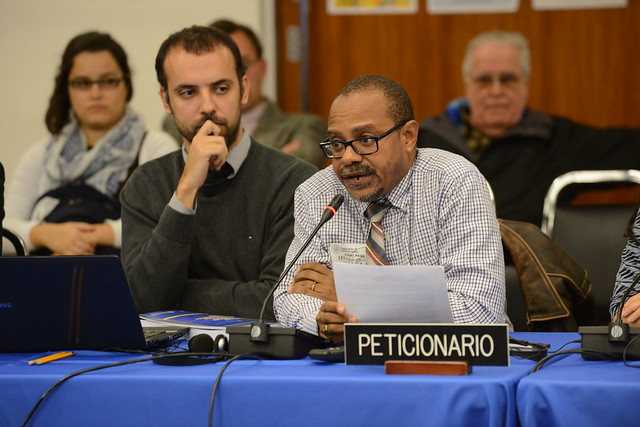 Colin Robinson, CAISO. Public Hearing: Trinidad and Tobago, Improper Use of Criminal Law to Criminalize Human Rights Defenders - 153 Period of Sessions