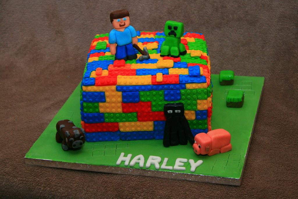 Lego Minecraft Cake Eldriva Flickr