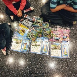 Examining the loot #LEGOKidsFest #LEGO #TodaysMama