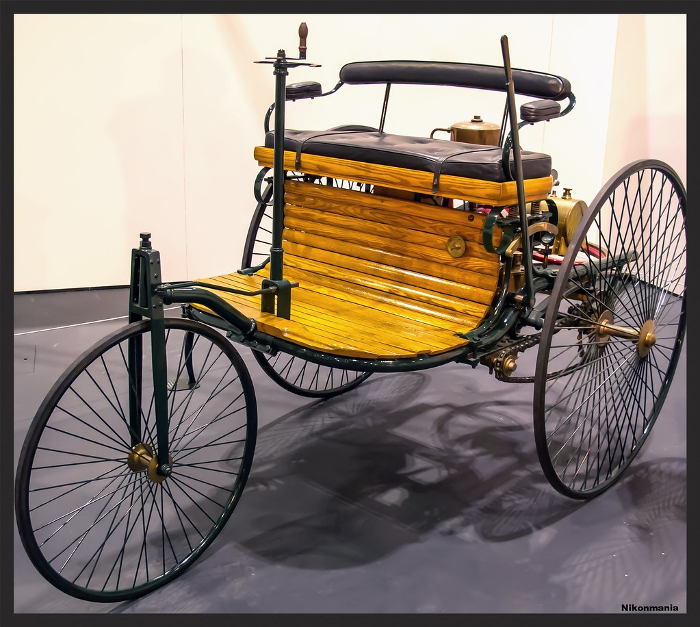 The World S First Automobile The Benz Patent Motorwagen: The Benz Patent-Motorwagen, Considered The First Ever Car