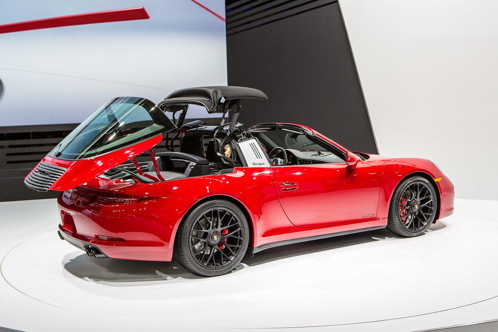 2015 Detroit Auto Show Porsche 911 Targa Gts Debut Flickr