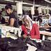 Nebiba Mohammed at the Shints textile factory