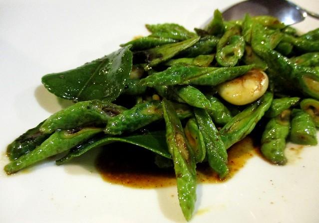 Flavours Thai Kitchen fried long beans
