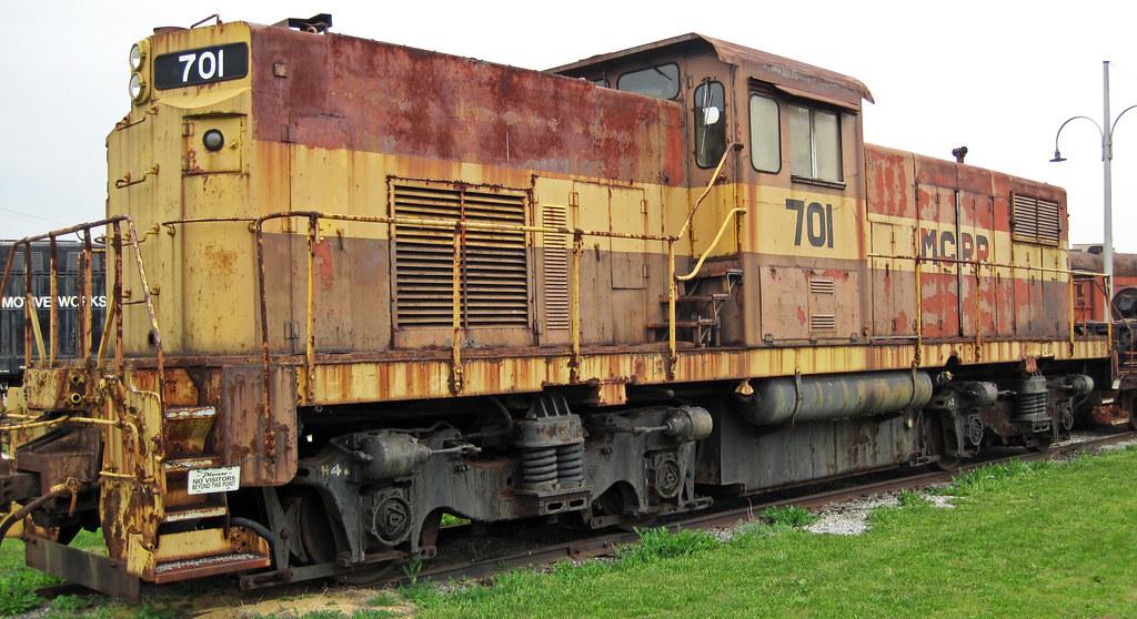 Monongahela Connecting Railroad 701 Diesel Locomotive A