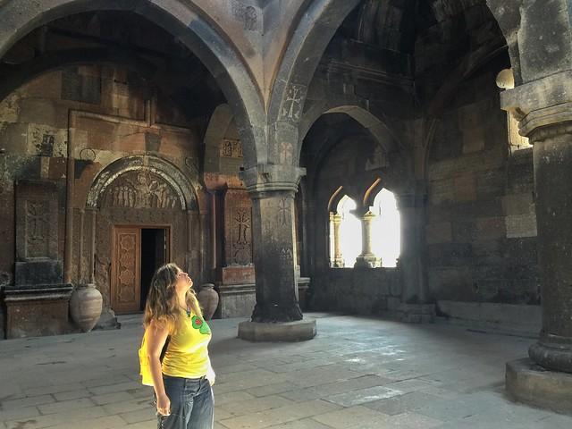 Rebeca en Armenia