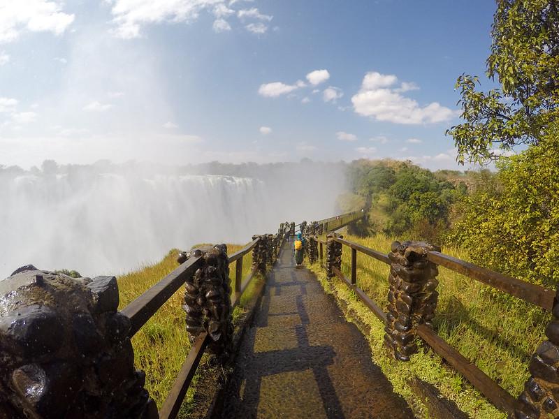 Knife Edge Bridge at Victoria Falls