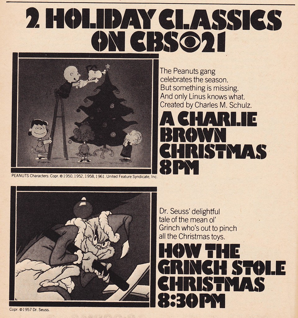 RETRO CHRISTMAS: 1976 TV Guide Ad for 'A Charlie Brown Chr… | Flickr