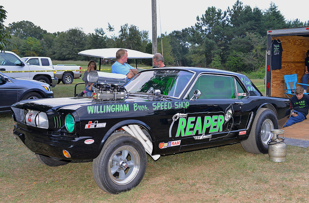 The Reaper 1964 1 2 Ford Mustang A Gasser During An