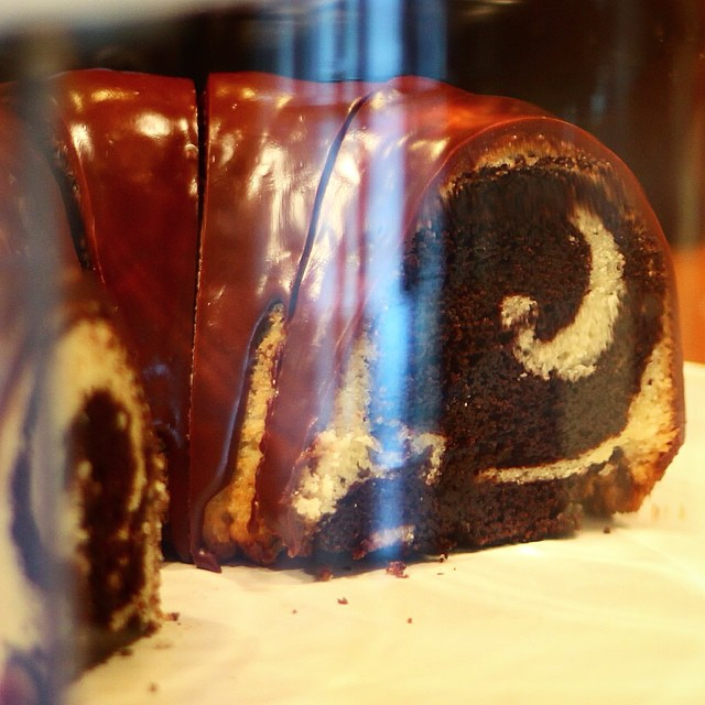Chocolate Marble Bundt Cake Sour Cream