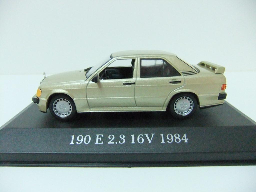 Mercedes benz 190e 2 3 16v 1984 altaya n 15 for 1984 mercedes benz 190e