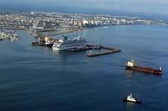 Uno de los más grandes cruceros del mundo llegó a Ecuador