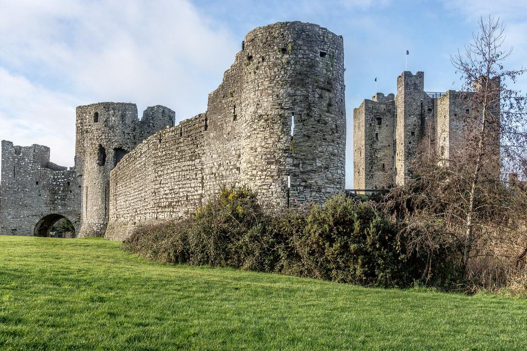 Norman Castle In Trim County Meath Ireland Ref 101003