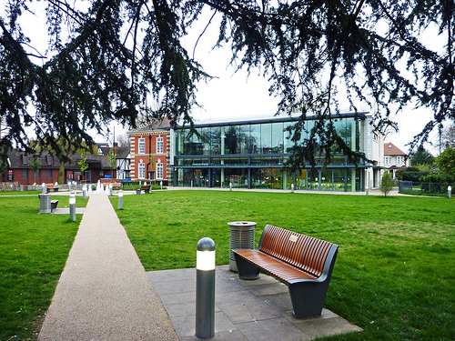 Enfield Town Enfield Town Library London