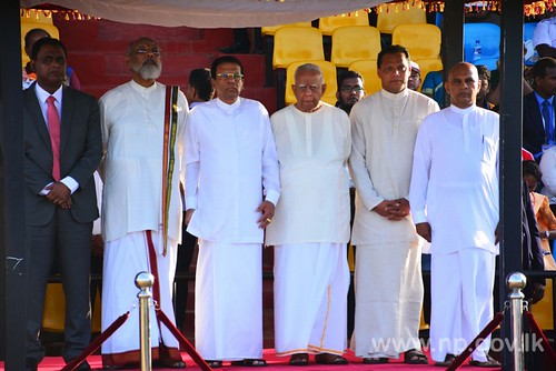 The conclusion ceremony of the national sports festival was held in Jaffna.
