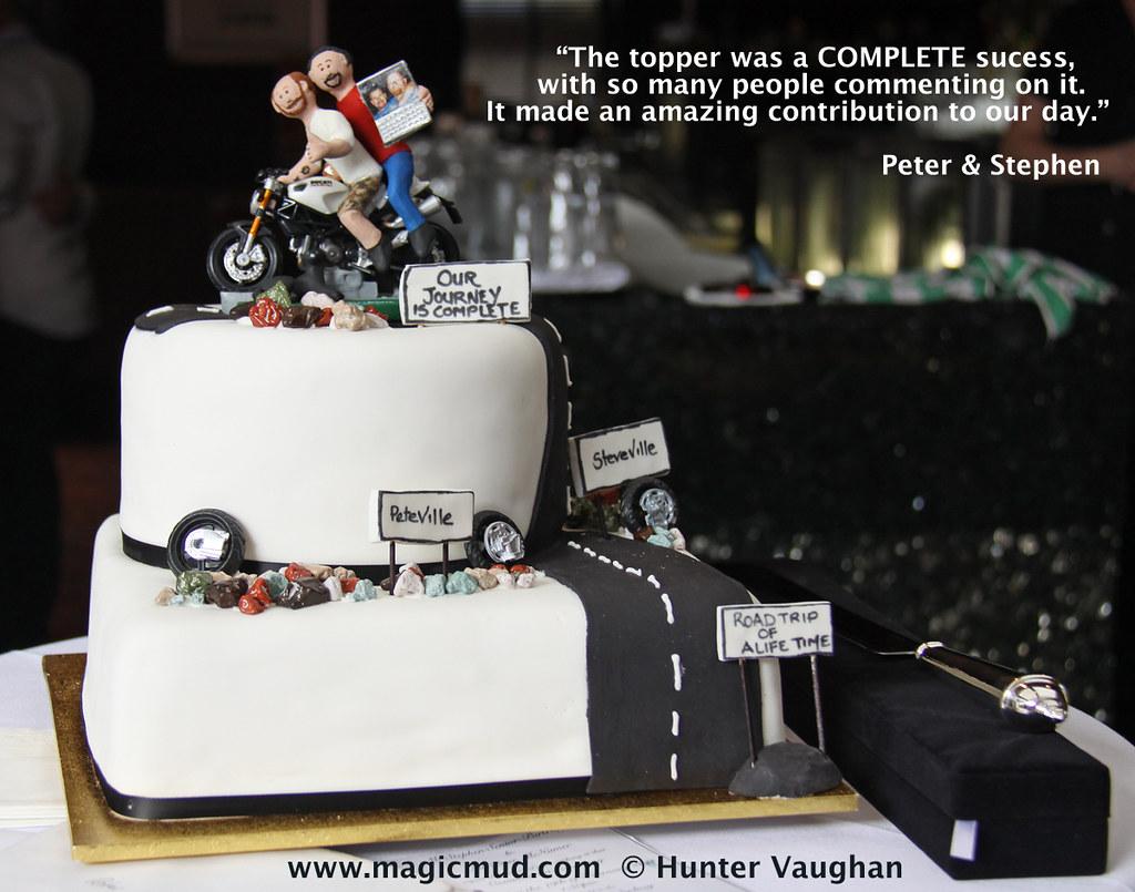 Custom Gay Wedding Cake Toppers