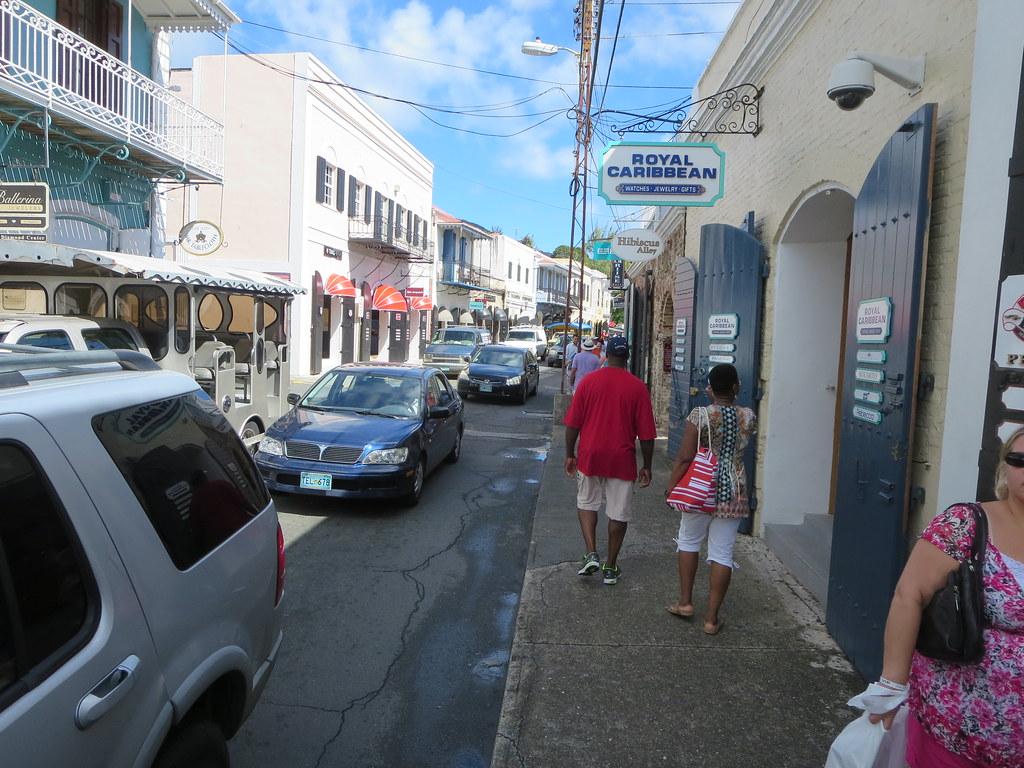jewelry shopping area in saint thomas u s virgin islands