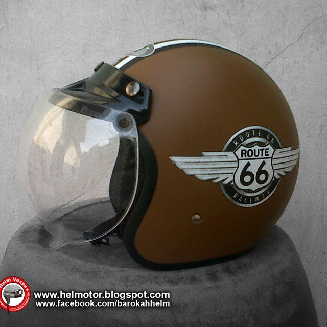 Helm Bogo Retro Route 66 Harga Helm Retro Route Class