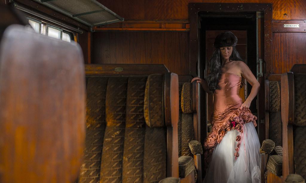 all aboard!!! The orient express is leaving!   model : Danie ...