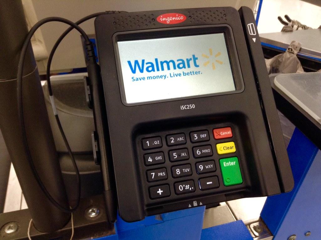 Ingenico Credit Card Reader Swipe Device Walmart