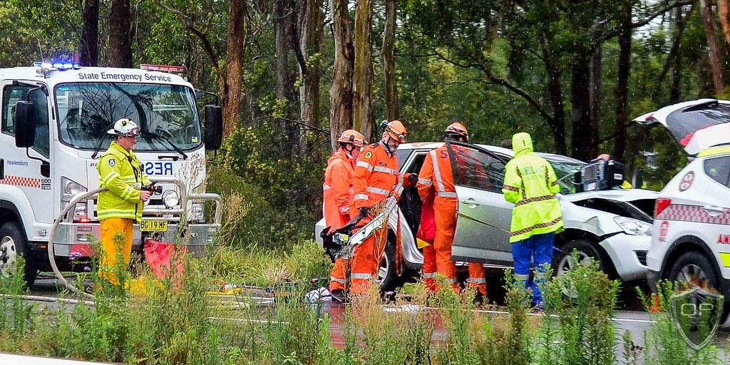 Car Accident Hitting Open Door