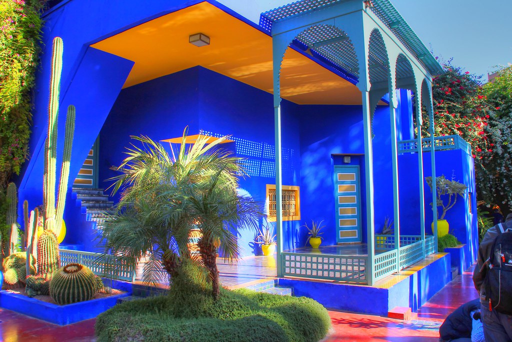 Jardin majorelle marrakesh marocco the french painter j for Jardin ysl marrakech