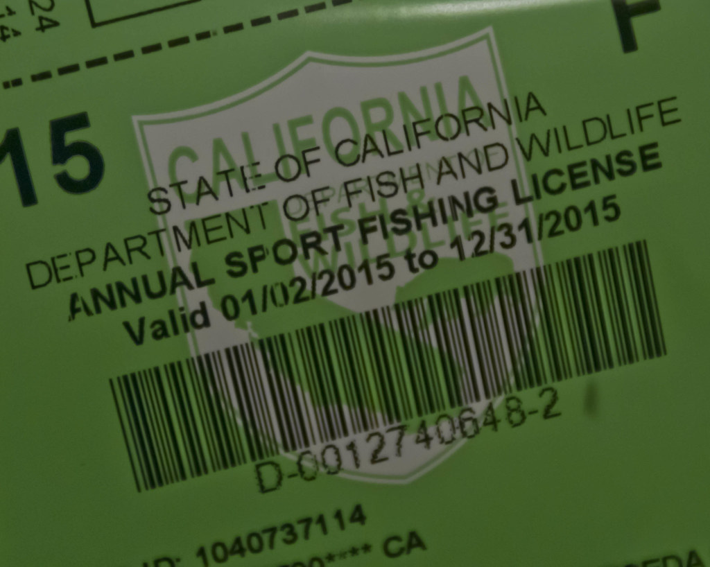 It 39 s here ca fishing license 2015 lookout trout for California fishing regulations