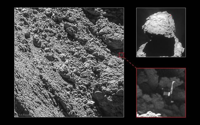 Megtalálták a Philae-t - VCSE - Mai Kép - Csizmadia Szilárd