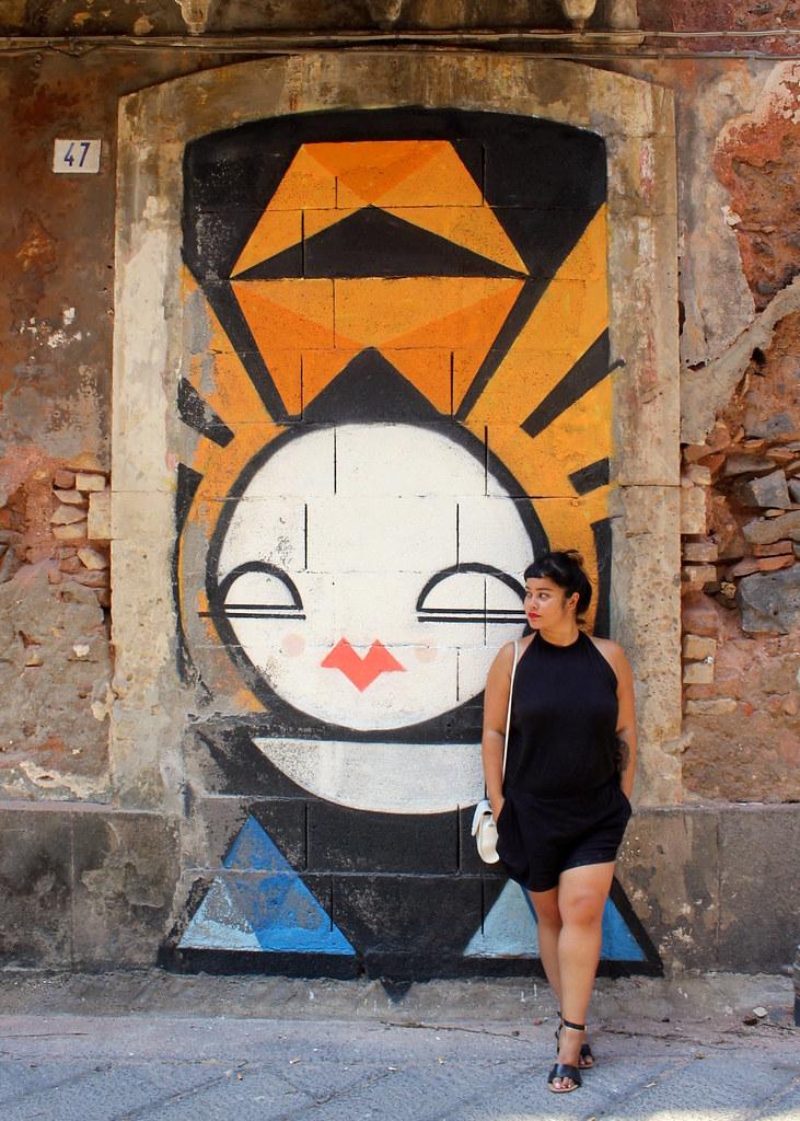 Street art Catania San Berillo Sicily
