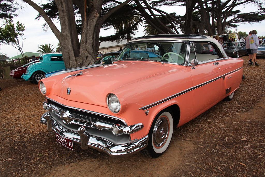 1954 Ford Crestline Skyliner Hardtop Cameo Coral The