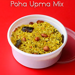 Instant Poha upma mix recipe - Rice flakes mix