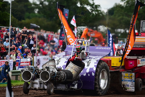 Patrice Cabec, Nirvana, European Tractor Pulling Championship, Great Eccleston 2016