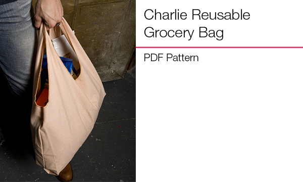 Charlie Reusable Grocery Bag