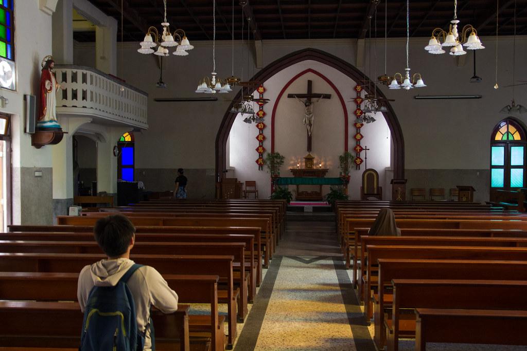 攝理教會竹東天主堂