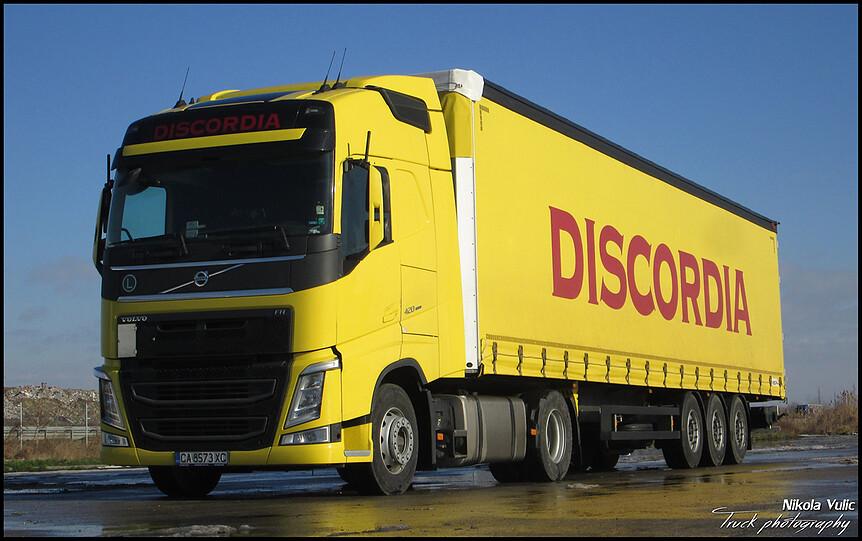 Discordia New Volvo Fh 420 Euro 6 Globetrotter Bg Flickr