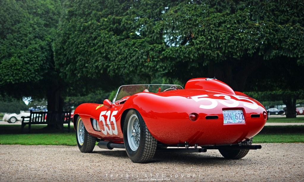 1957 Ferrari 315s Scaglietti Spyder Pt 3 2014 Hampton Co