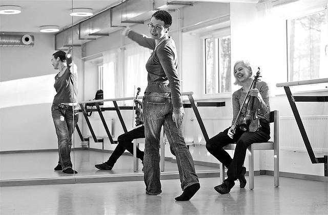 Rotation och sväng. Foto: Jonas Hjalmarsson