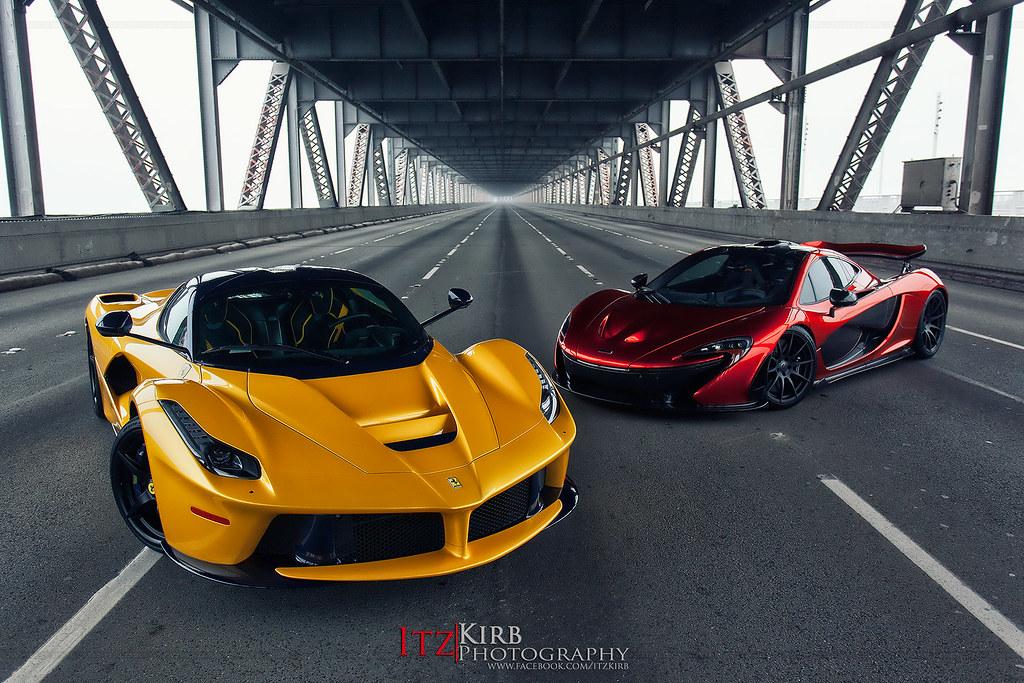IMG_2807 Ferrari LaFerrari and McLaren P1 | Ferrari ...