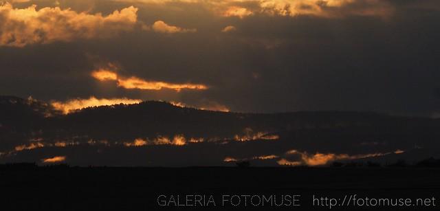 Clouds in fire 2