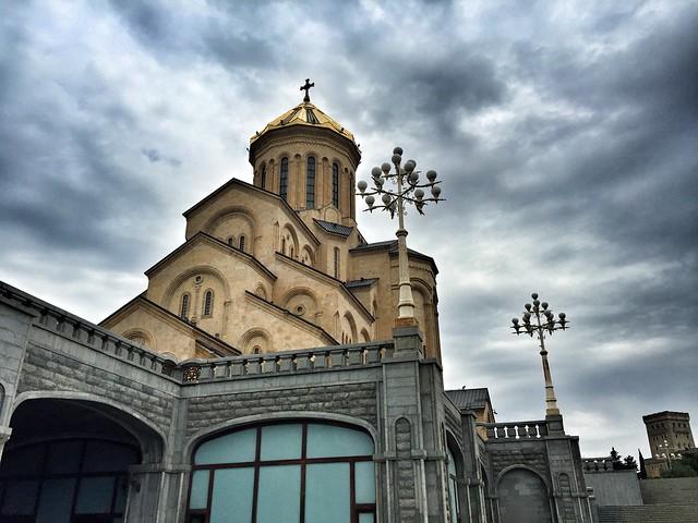 Tsminda Sameba, la catedral ortodoxa más grande de Georgia