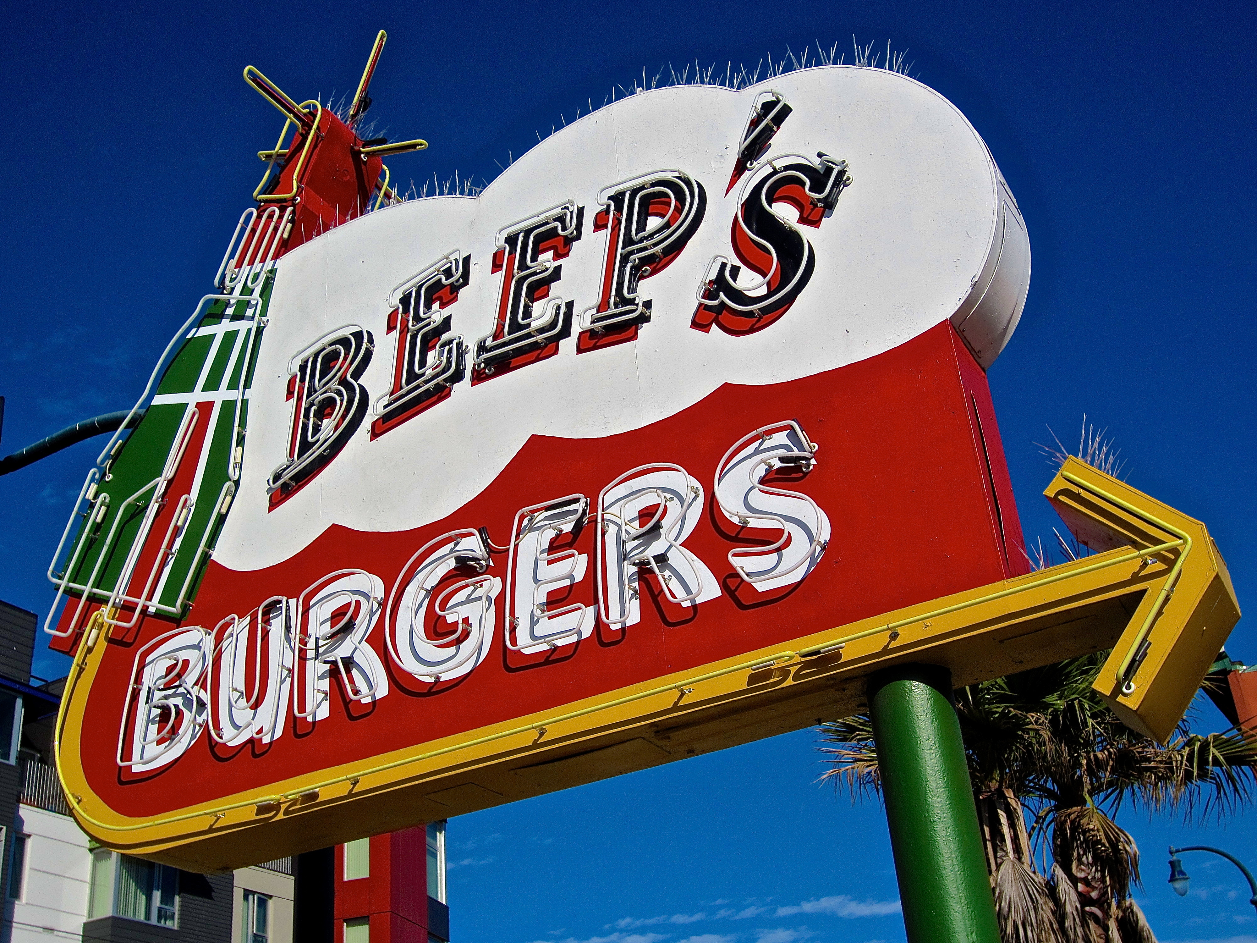 Beep's Burgers - 1051 Ocean Avenue, San Francisco, California U.S.A. - September 26, 2015