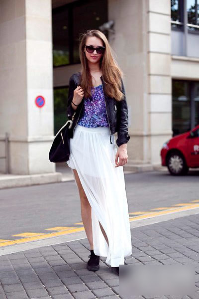 Low profile small sexy slit skirts add your femininity