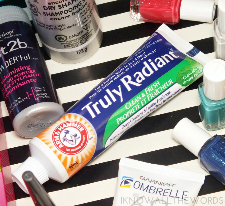 summer survival supplies arm & hammer truly radiant toothpaste