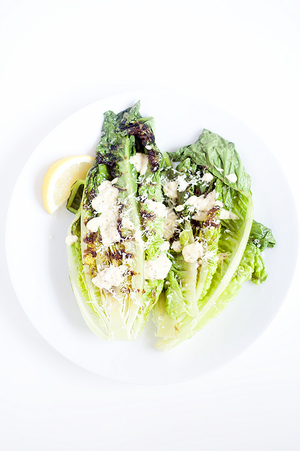 grilled caesaar salad