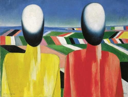 Kazimir Malevich, Peasants, c. 1930
