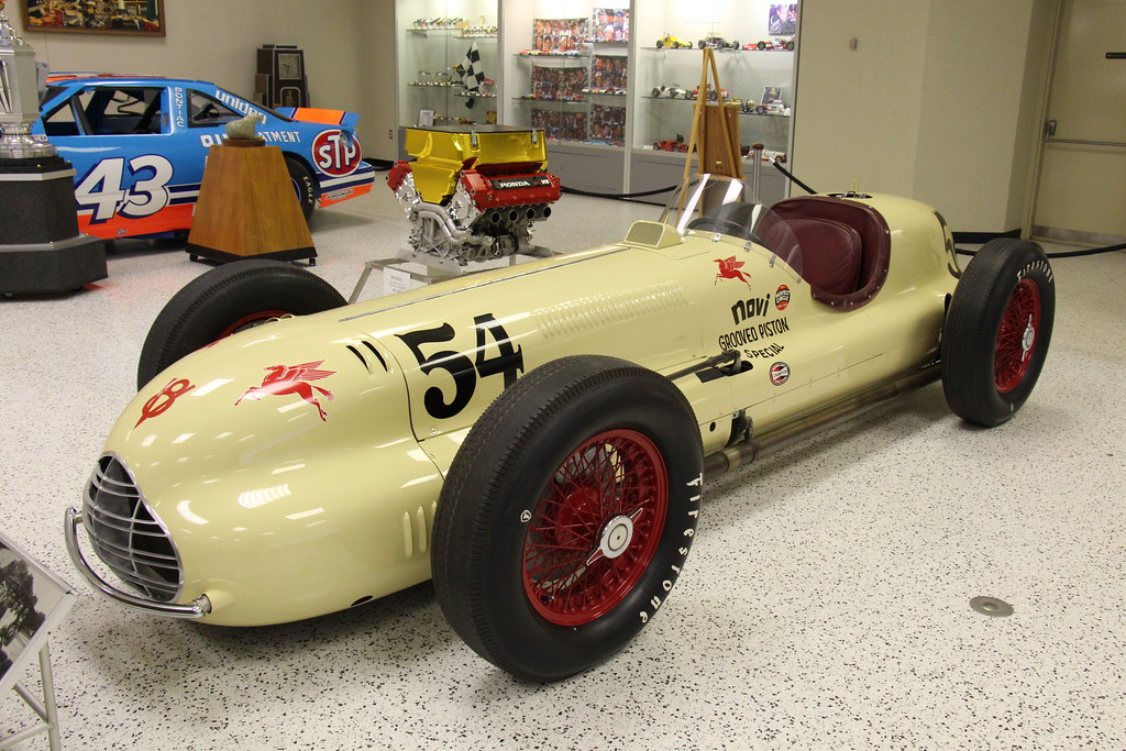 1948 Indy Novi Grooved Piston Special Lewis Welch Of