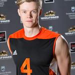 Daniel Eikeland R�d, WolfPack Men's Volleyball